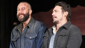 Chris O'Dowd (Lennie) and James Franco (George).