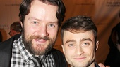 Padriac Delaney and Daniel Radcliffe of The Cripple of Inishmaan.