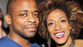 After Midnight stars Dule Hill and Karine Plantadit are ready to party!