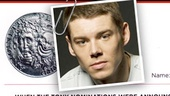 Hmm, we hope The Glass Menagerie's Brian J. Smith  was kidding about getting locked up in a squad car...