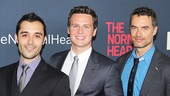 The Normal Heart – Movie Premiere – OP – 5/14 - Frankie J. Alvarez- Jonathan Groff  - Murray Bartlett