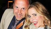 Kerry Butler is proud to have her husband Joey Mazzarino by her side on opening night.