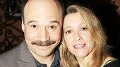 Cabaret co-stars Danny Burstein and Linda Emond served as the ceremony's hosts.