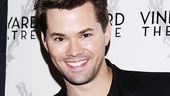 Tony nominee Andrew Rannells.