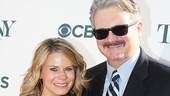 The Glass Menagerie Tony nominee Celia Keenan-Bolger and her husband, Broadway vet John Ellison Conlee.