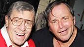 Bullets Over Broadway - Backstage - OP - 6/14 - Jerry Lewis - Jim Borstelmann