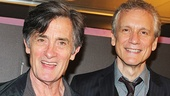 Jersey Boys screenplay writer Rick Elice and his partner Roger Rees.