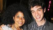 Murder Ballad reunion! Star Rebecca Naomi Jones and music director Justin Levine catch up.