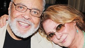 Stage legends James Earl Jones and Elizabeth Ashley share a sweet moment.