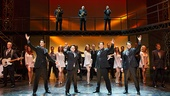The cast of Jersey Boys