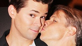 Andrew Rannells gets John Cameron Mitchell's blessing! See Rannells at the Belasco Theatre beginning on August 20.