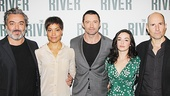 The River - Meet and Greet - 10/14 - Jez Butterworth - Cush Jumbo - Hugh Jackman - Laura Donnelly
