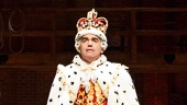 Brian d'Arcy James as King George in Hamilton