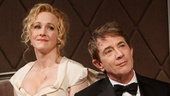 Katie Finneran as Julia Budder and Martin Short as James Wicker in It's Only A Play