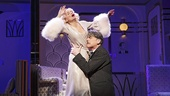 Kristin Chenoweth as Lily Garland & Peter Gallagher as Oscar Jaffee in On the Twentieth Century