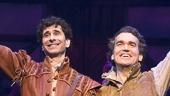 John Cariani as Nigel Bottom & Brian d'Arcy James as Nick Bottom in Something Rotten!