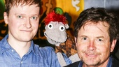 Hand to God - Backstage - 5/15 - Michael J. Fox