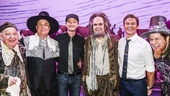 Something Rotten! - Backstage - 9/15 -  Gerry Vichi, Brooks Ashmanskas, Neil Patrick Harris, David Burtka, Brad Oscar and Peter Bartlett.