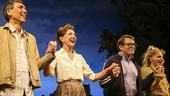 Sylvia - Opening - 10/15 - ) Robert Sella, Julie White, Matthew Broderick and Annaleigh Ashford