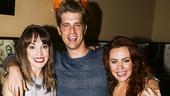Wicked - 5000 performances - 10/15 - Kara Lindsay, Jonah Platt and Rachel Tucker