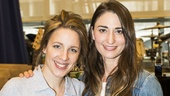 Waitress - Media Day - 3/16 - Jessie Mueller and composer Sara Bareilles