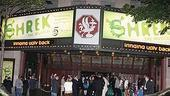 Shrek Opens in Seattle - marquee