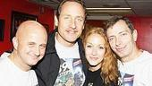 39 Steps CD Signing - Cliff Saunders - Sam Robards - Jennifer Ferrin - Arnie Burton