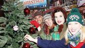 White Christmas Tree Trimming - Richie Mastascusa - Drew Humphrey - Mary Giattino - Shannon O'Bryan