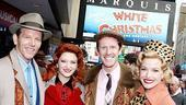 White Christmas Tree Trimming - Stephen Bogardus - Kerry O'Malley - Jeffry Denman - Meredith Patterson
