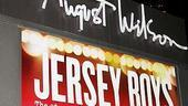 Jersey Boys 3rd Year Celebration  August Wilson Theatre