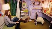Sutton Foster backstage at Shrek – boots