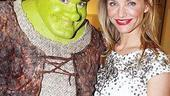 Shrek the Musical Opening Night  Brian dArcy James  Cameron Diaz