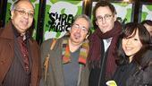 Shrek the Musical Opening Night  George C. Wolfe  Craig Lucas  Tony Kushner  Rosie Perez