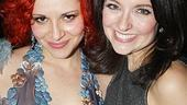 Shrek the Musical Opening Night  Rachel Stern - Niki Scalera