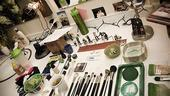 Nicole Parker Backstage at Wicked – dressing table