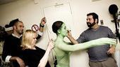 Nicole Parker Backstage at Wicked  bodysuit