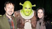 Courteney Cox & David Arquette at Shrek the Musical – Courteney Cox – Brian d'Arcy James – Courteney Cox