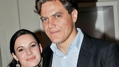 Steppenwolf Theatre Company actress Kate Arrington wouldn't miss longtime love Michael Shannon's opening night.