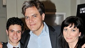 Sam Deutsch, Michael Shannon and Mierka Girten clean up nicely for their opening night celebration!