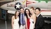 Anything Goes Opening Night  Laura Osnes  Josh Franklin  Jennifer Savelli  Kristen Beth Williams  Daniel J. Edwards 
