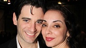 Colin Donnell cozies up with Anything Goes triple-threat Jennifer Savelli.