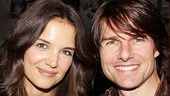 Tom Cruise and Katie Holmes are all smiles after an exciting night at the theater. Be sure to follow in the Cruises' footsteps and check out the show before it closes April 24!