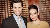 The Book of Mormons Andrew Rannells and How to Succeed star Tammy Blanchard are excited for all the fun Tony-related events.