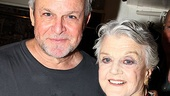Follies lead Ron Raines wouldn't miss the chance to snap a photo with the one and only Angela Lansbury.