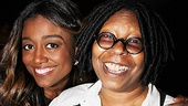 Sister Act's Patina Miller is thrilled to see her show's producer (and star of the original film) Whoopi Goldberg take home the prestigious New York Apple Award.
