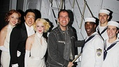 Perez Hilton at &lt;i&gt;Anything Goes&lt;/i&gt; - Kimberly Faur  Raymond J. Lee  Joyce Chittick  - Perez Hilton  Anthony Wayne  Adam Perry  Clyde Alves 