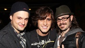 Even without their '80s gear on, Jeremy Woodard, Diego Boneta and Mitch Jarvis are rockin'.