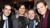 <i>Bonnie & Clyde</i> opening night – Marc Bruni – Stephanie J. Block – Kathleen Marshall – Sebastian Arcelus