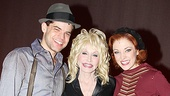 Dolly Parton at Bonnie &amp; Clyde - Jeremy Jordan  Dolly Parton  Laura Osnes