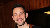 Onceleading man Steve Kazee accompanies himself on guitar.